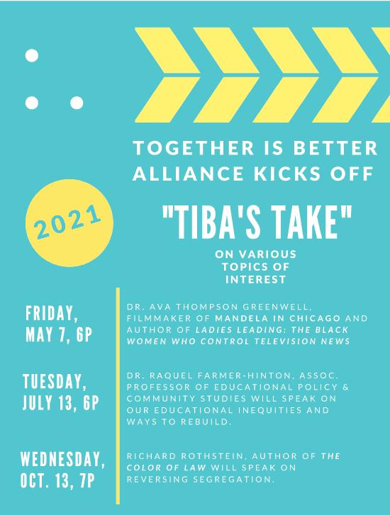 TIBA 2021 webinars